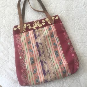 Lucky Brand Fabric Bag